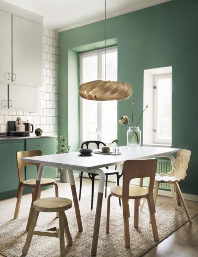 keittiön_vihreä_seinä