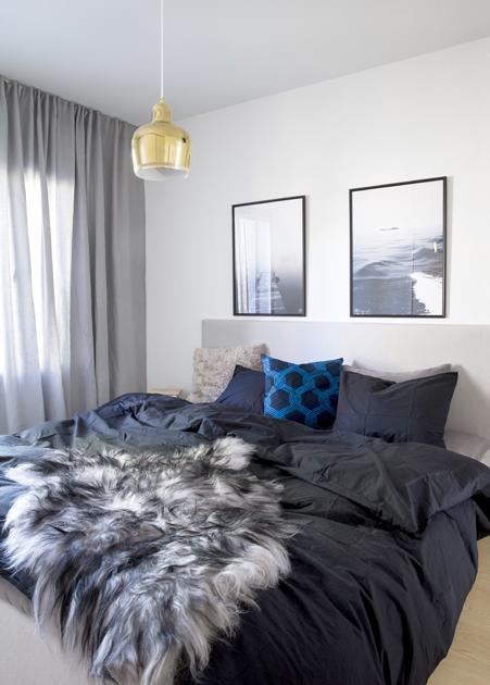 Makuuhuone, ennen ja jälkeen, sisustus, Deko
