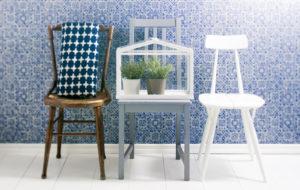 maalatut tuolit, kunnosta vanha huonekalu maalaamalla