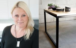 sisustussuunnittelija Anita Koponen on tehnyt Mikkelin asuntomessuille MinunVALOn sisustuksen.