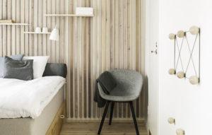Dream Hostel & Hotel puuseinäinen huone