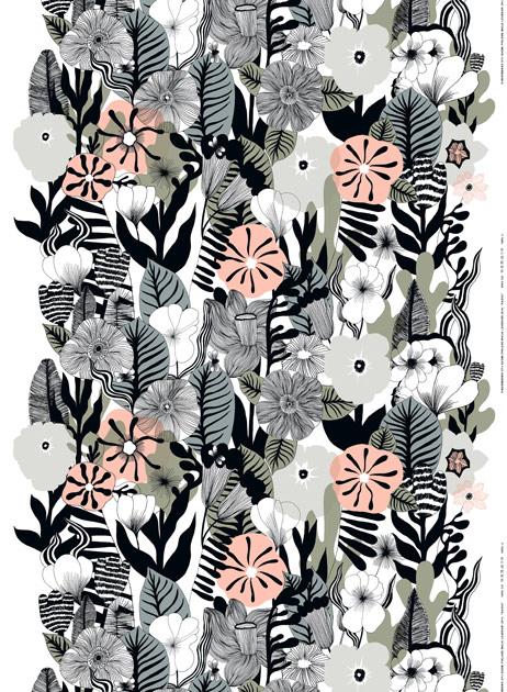 Maija Louekarin suunnittelema kasvu-printti
