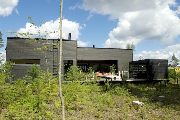 Kotikontti-talo, Mikkelin asuntomessut 2017.