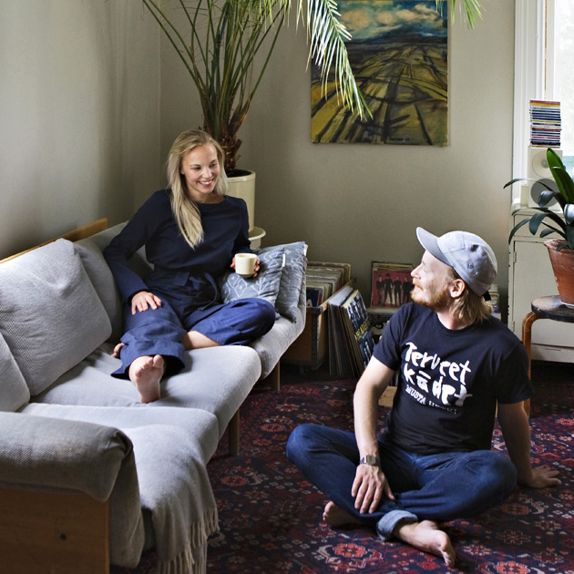 Saana ja Olli syyskuun Dekossa