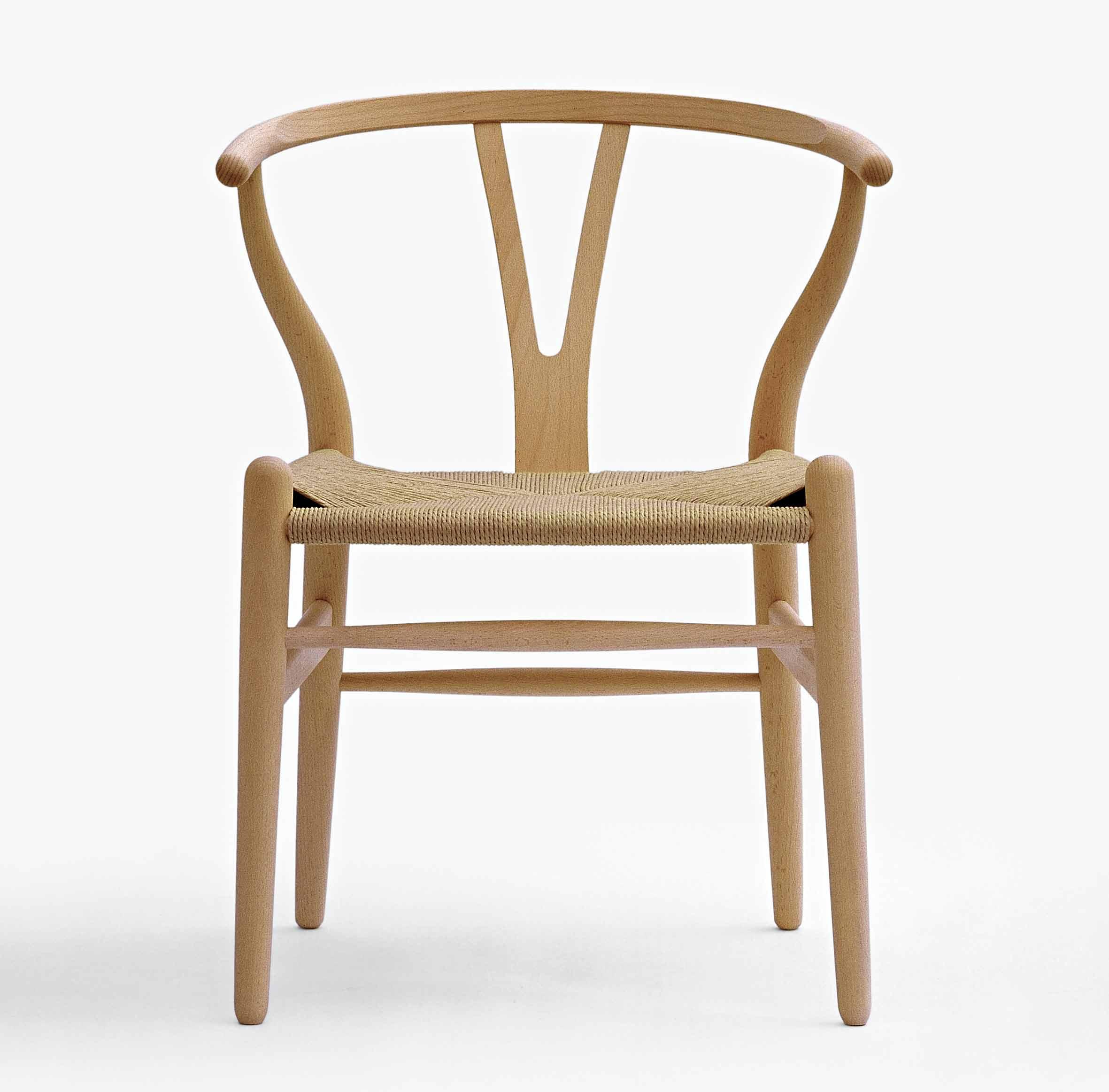 Y-tuoli kulkee myös CH24- ja Wishbone-tuolien nimellä.