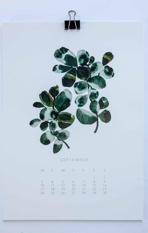 Kepardi Companyn vuosikalenteri 2017.