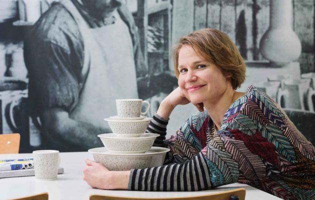 Arabian muotoilujohtaja Irina Viippola.