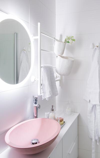 Pienen kylpyhuoneen muutos, helmikuun Deko 2018.