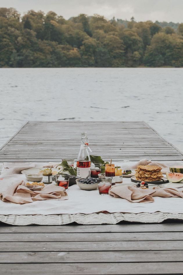 piknik laiturilla
