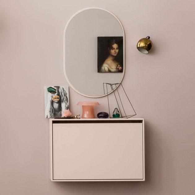 Pikkukaappi ja peili