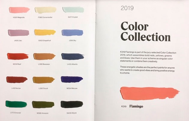 Tikkurilan vuoden 2019 värit
