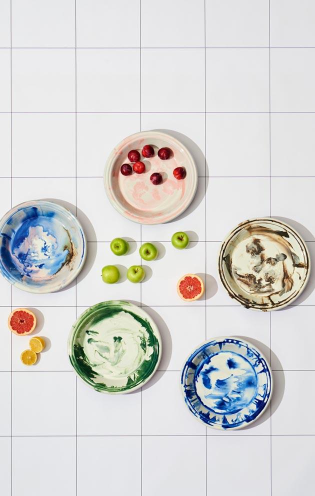 Leikkisä ja iloinen muotoilu ja värimaailma on tyypillistä Hayn tuotteille.