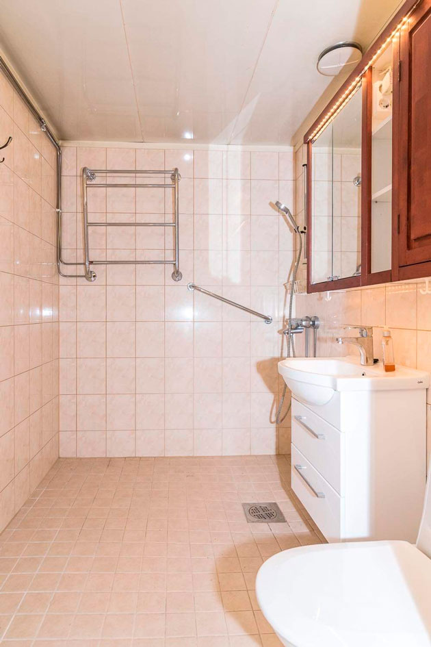kylpyhuoneen remontti